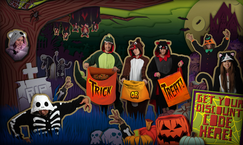 Kigurumi Shop Halloween Banner... spooky!