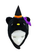 Hello Kitty Halloween Black Kigurumi Cap