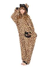 Hello Kitty Leopard Beige Kigurumi