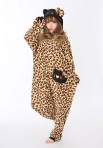 Hello Kitty Leopard- Beige