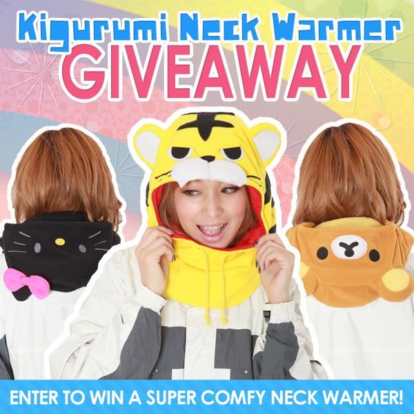 Kigurumi Neck Warmers