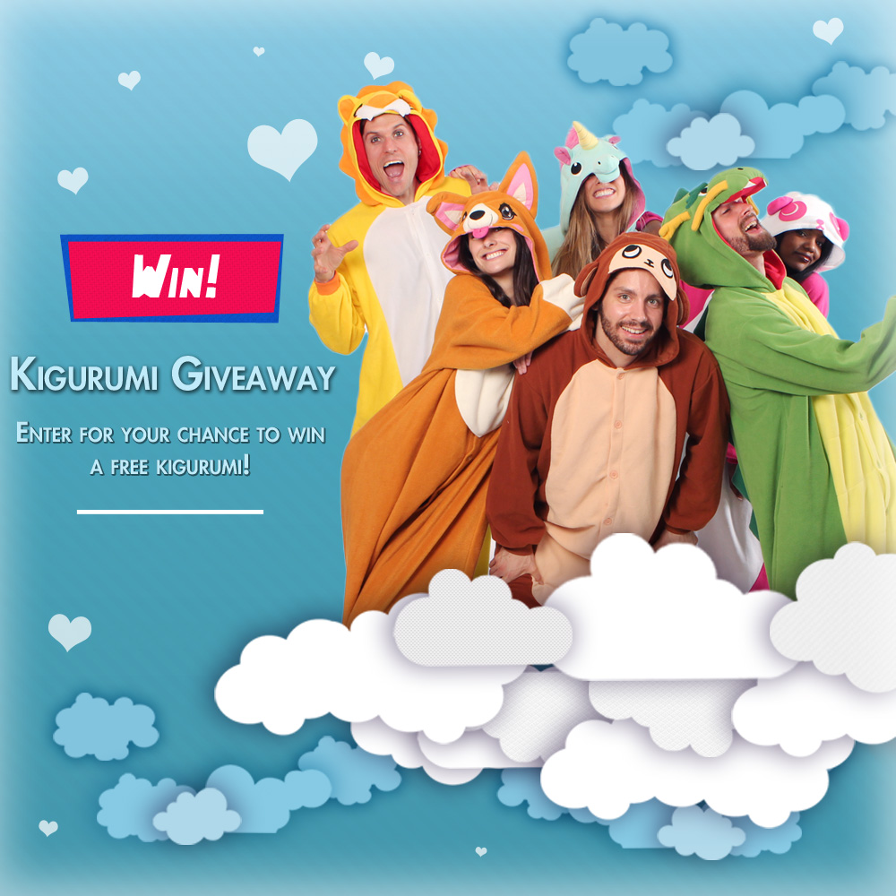 Win a Kigu from Kigurumi Shop!