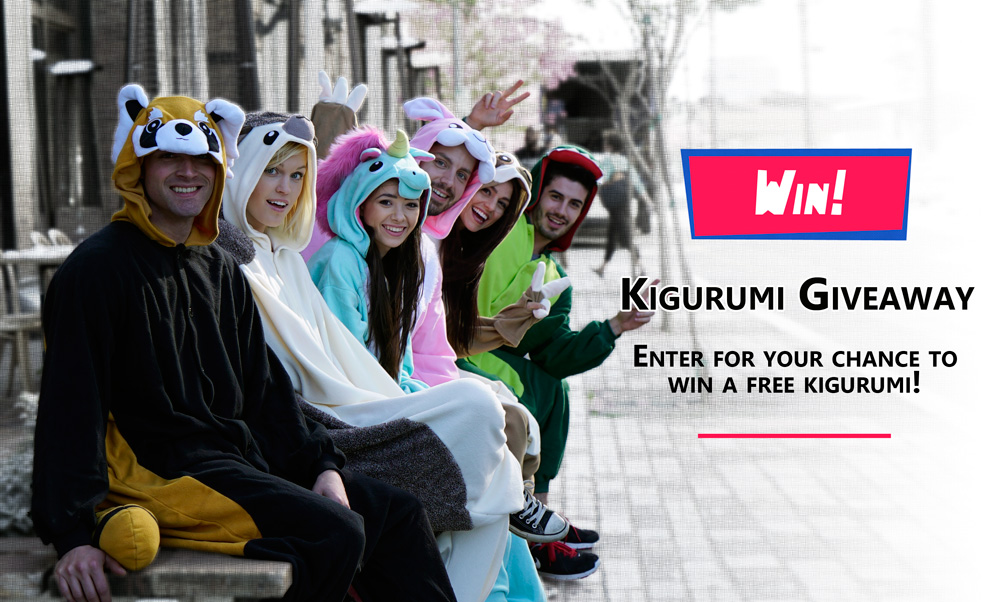 Win a SAZAC Kigurumi Animal Onesie from Kigurumi Shop!