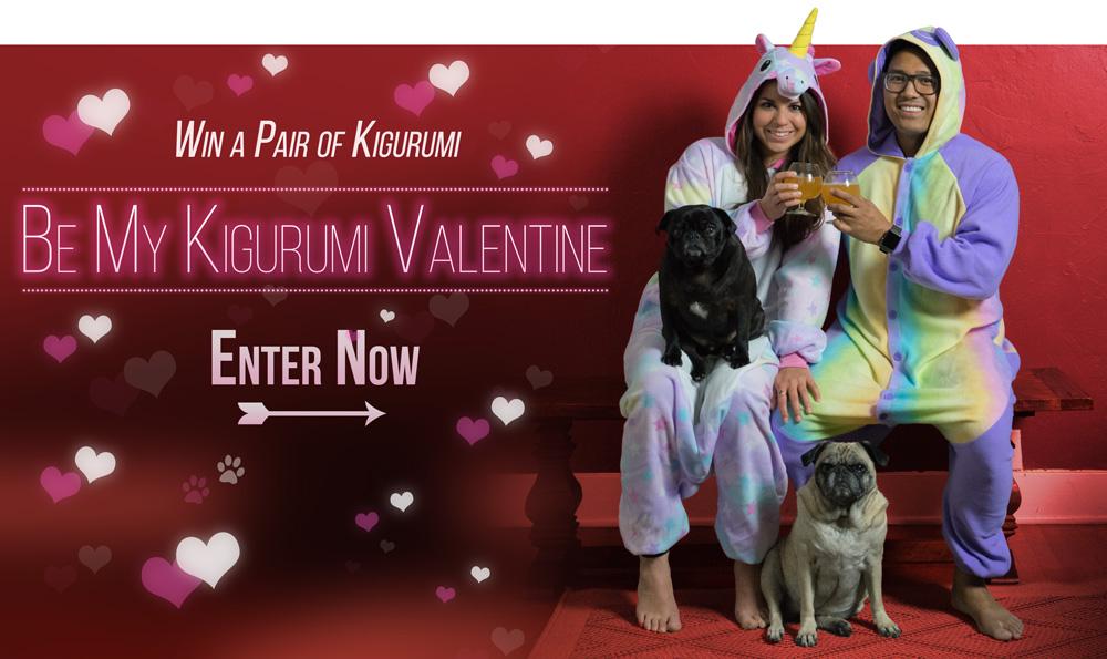 Be My Kigurumi Valentine
