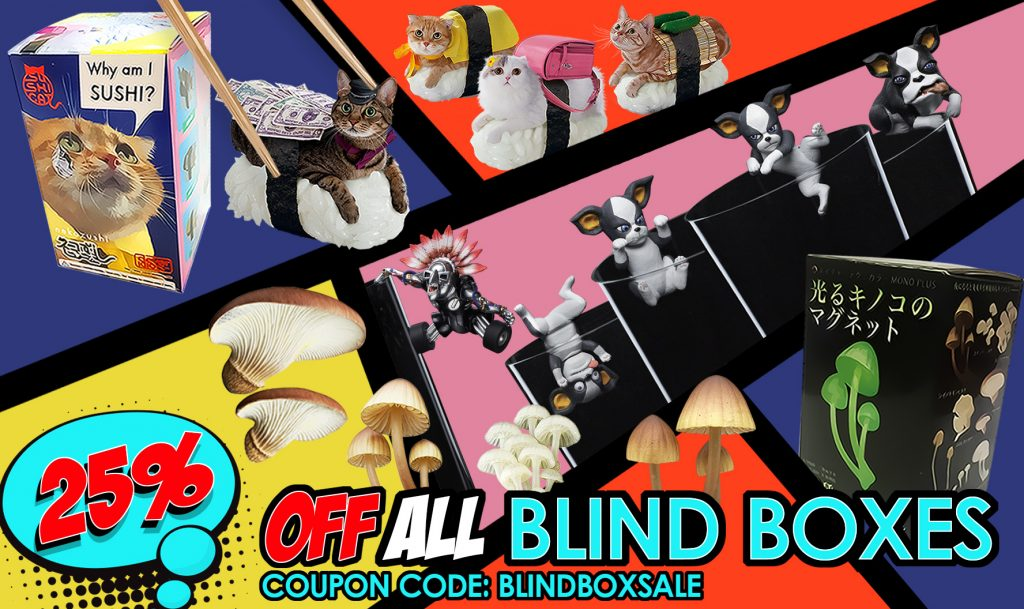 blind boxes coupon code