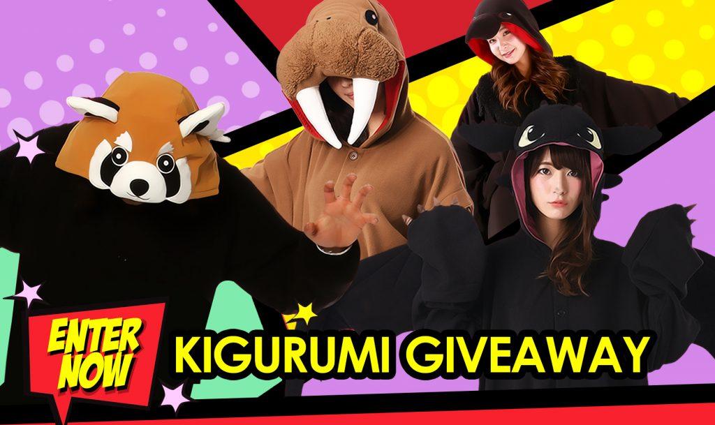 Kigurumi shop giveaways